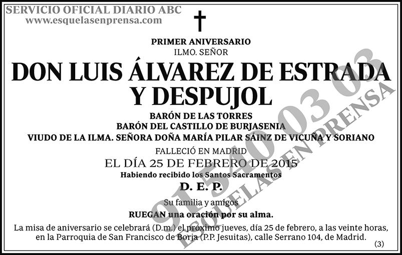 Luis Álvarez de Estrada y Despujol